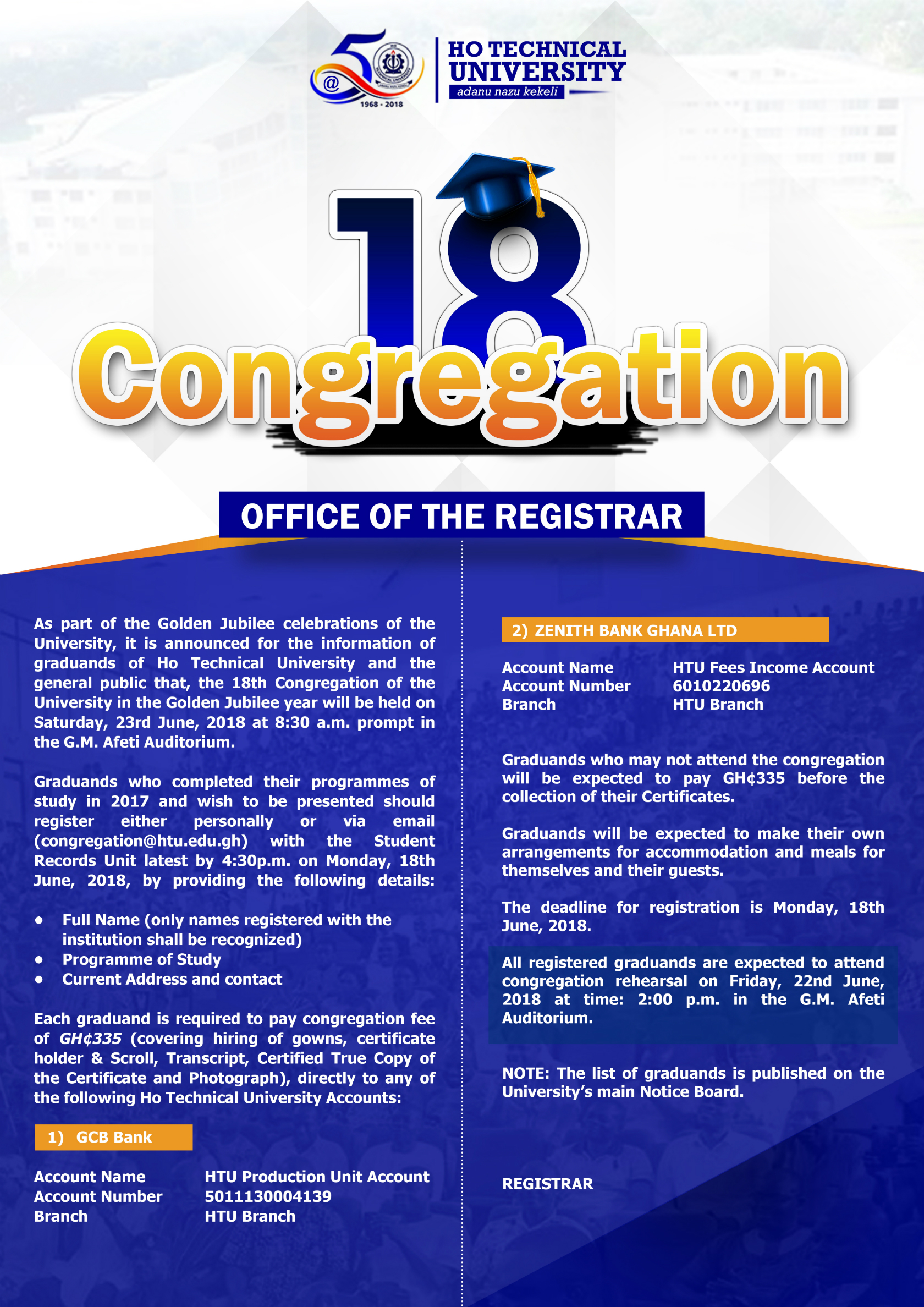 18th Congregation Poster Web